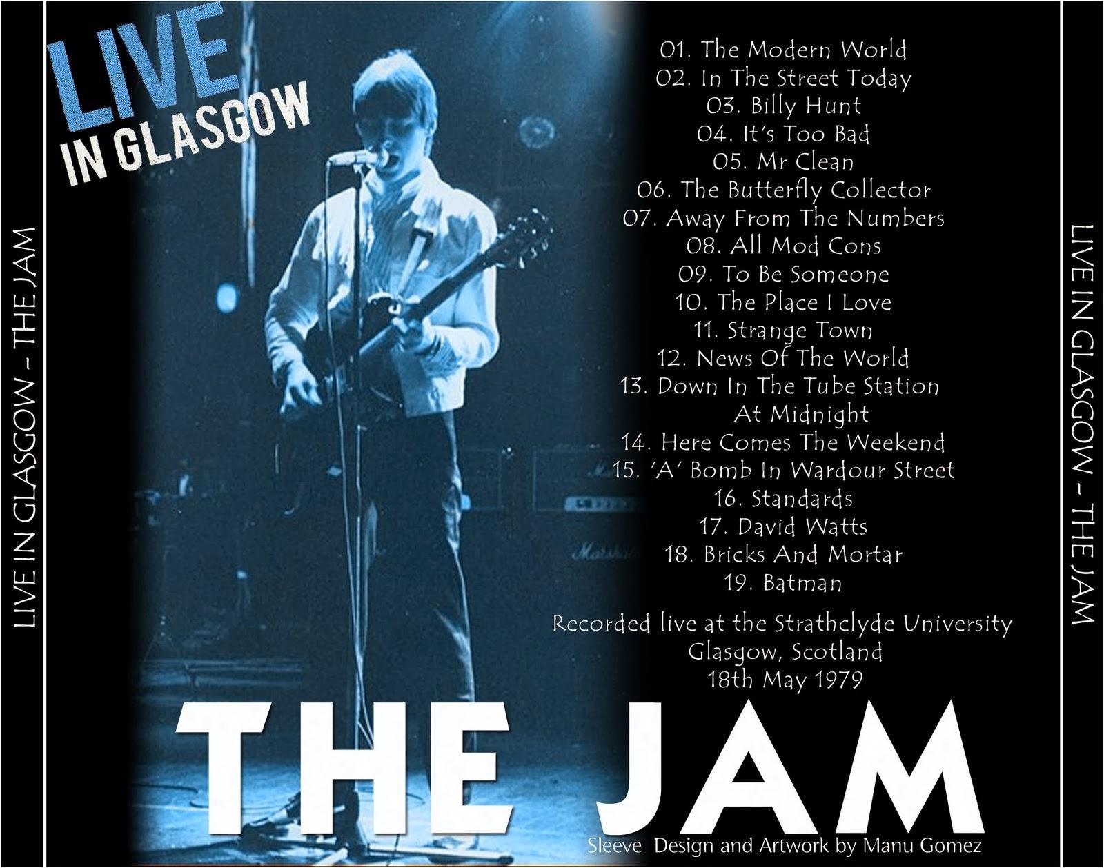 Reliquary: Jam, The [1979.05.18] Jam Pact Spring Tour (Glasgow ...