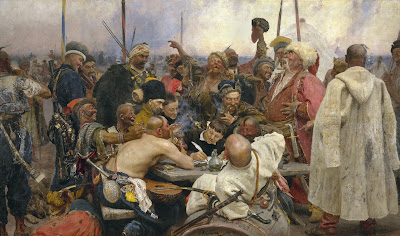 https://upload.wikimedia.org/wikipedia/commons/7/79/Ilja_Jefimowitsch_Repin_-_Reply_of_the_Zaporozhian_Cossacks_-_Yorck.jpg