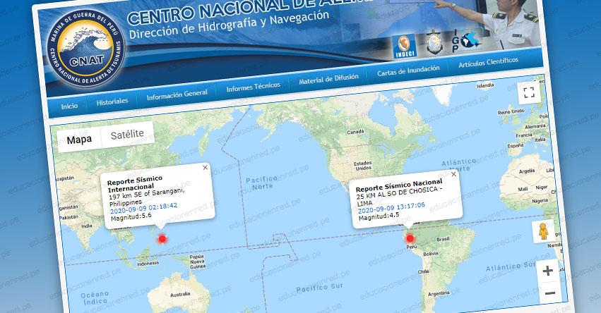Potente sismo en Lima de Magnitud 4.5 no genera tsunami, informó la Marina de Guerra del Perú - www.dhn.mil.pe