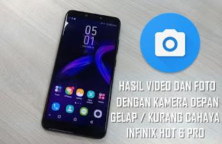 Kamera Depan Open Camera Pada Infinix Hot 6 Pro Tidak Mau Terang
