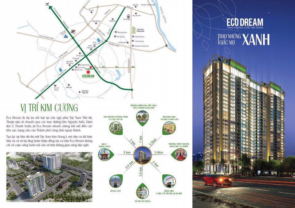 Tiện ích chung cư Eco Dream City