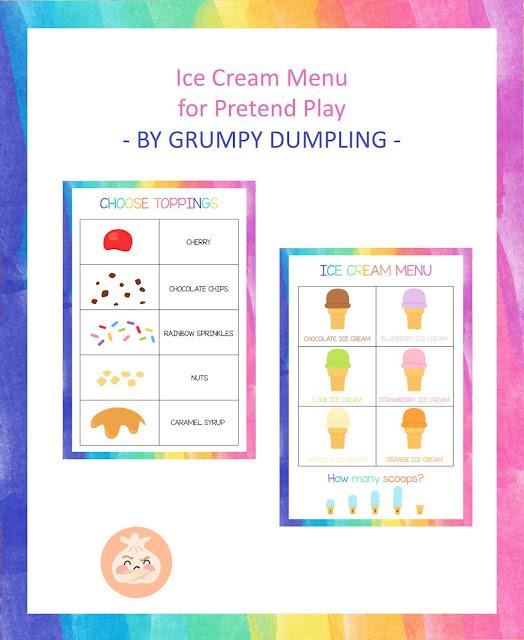 https://www.teacherspayteachers.com/Product/Ice-cream-Menu-for-Pretend-Play-1517717