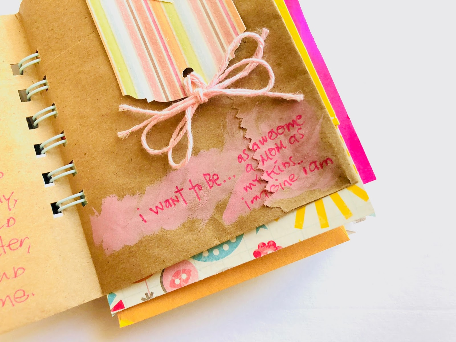#30lists, #30 Days of Lists #list #lists #listing challenge #I Want to Be #journal #mini book #smashbook