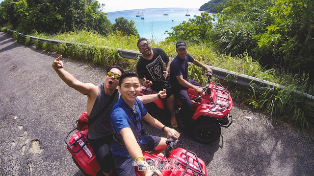 ATV Adventure in Pulau Redang from Taaras Beach and Spa Resort
