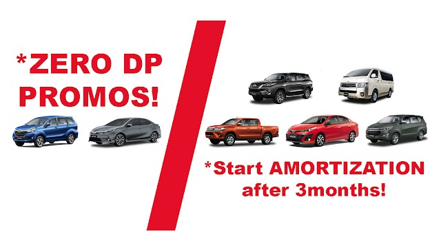 PROMO: *ZERO DP or *Start AMORTIZATION after 3months!