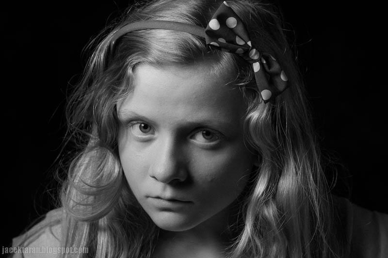 portret dziecka, fotografia portretowa, jacek taran, fotografia artystyczna