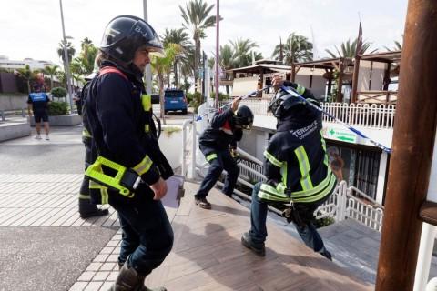 Se elevan a 40 los heridos por hundimiento de discoteca en Adeje, Tenerife