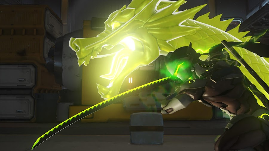 overwatch genji ultimate dragonblade