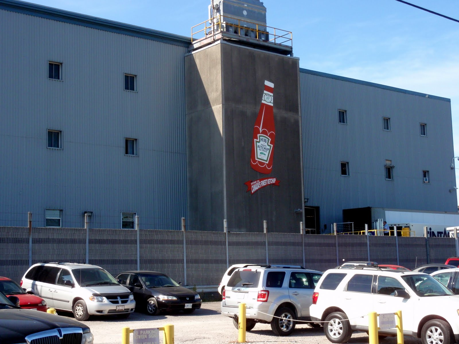 Heinz Ketchup plant in Leamington.