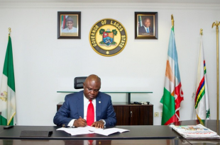 Governor Ambode appoints Seun Anibaba as Lotteries Board CEO