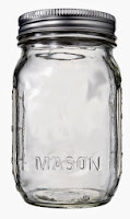 SWEETLY SCRAPPED-MASON JARS