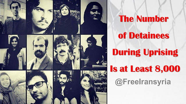 The Number of Detainees During Uprising Is at Least 8,000