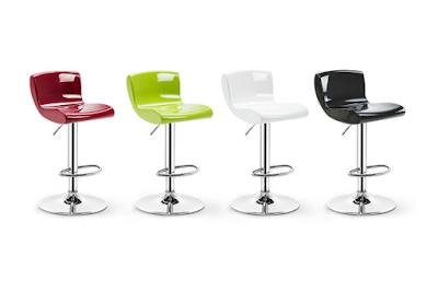 NYJS Bar Stool,Bar Chair Set of 2Bar Stools Set with Backrest