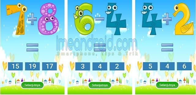 aplikasi matematika sd kelas 1