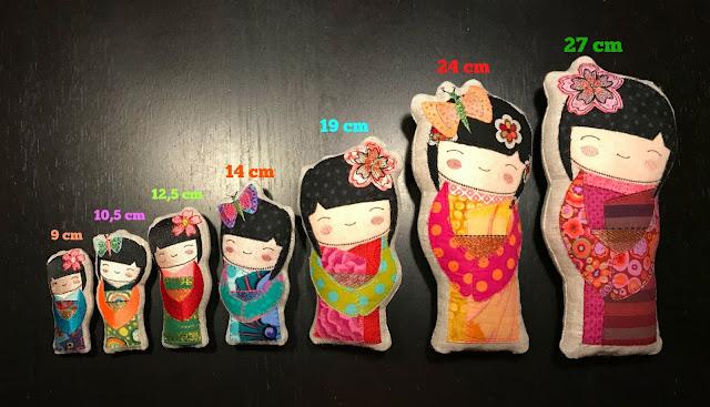 wzory lal kokeshi