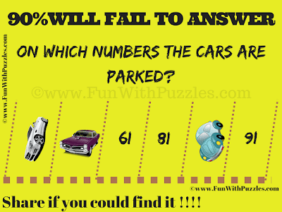 It is very popular parking game puzzle in which your challenge is to find the parking lot numbers on which cars are parked