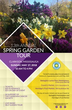 Garden tour season is here!