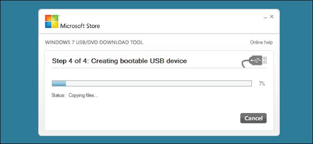 Create bootable USB