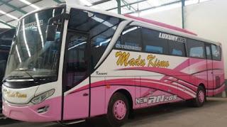 Rute dan tarif Bus Madu Kismo