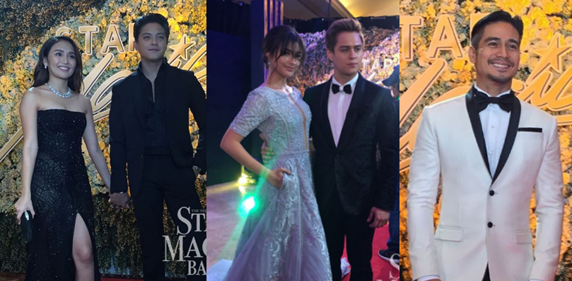 The brightest stars of ABS-CBN during the 2016 Star Magic Ball.
