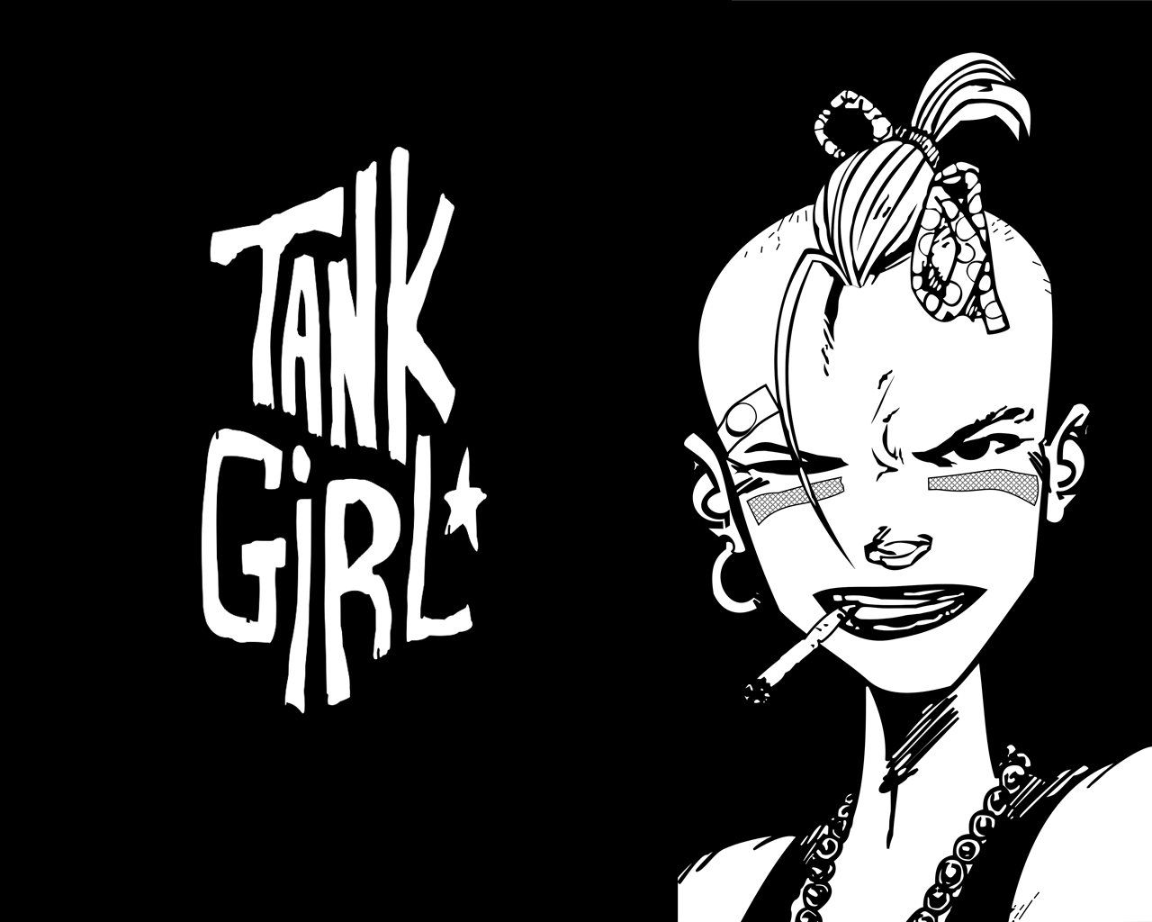 Four Of Them Thoughts On Tank Girl