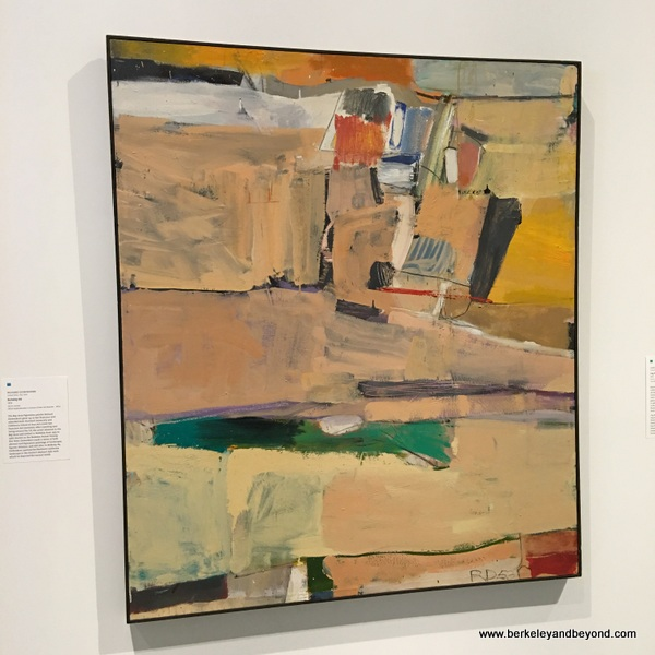 """Berkeley #4,"" 1953, Richard Diebenkorn, at Berkeley Art Museum in Berkeley, California"