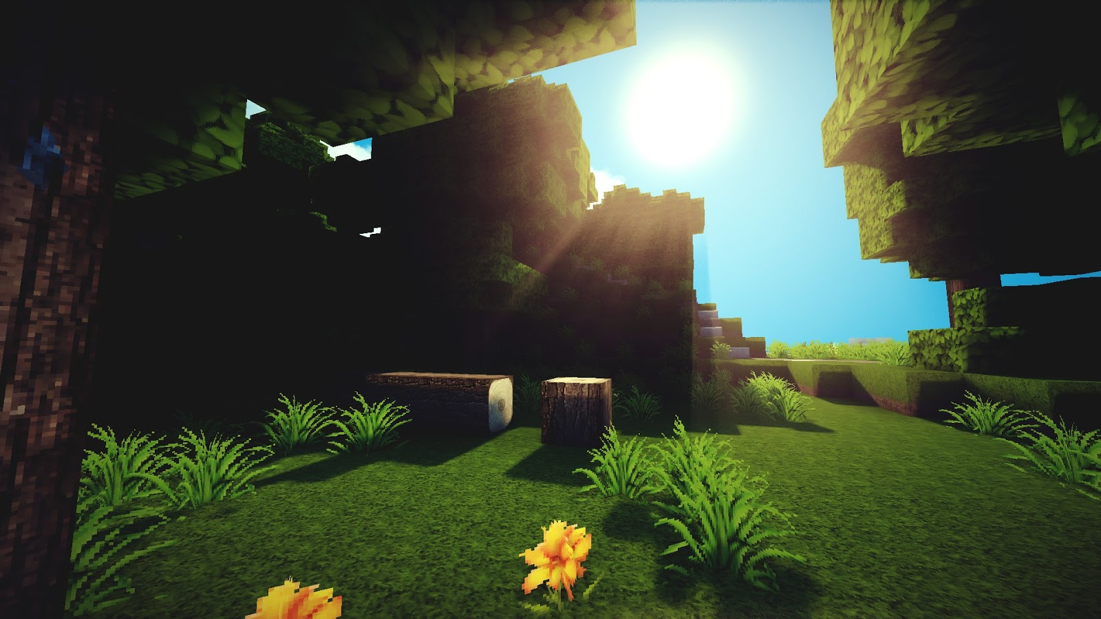 Cool Minecraft Backgrounds 2