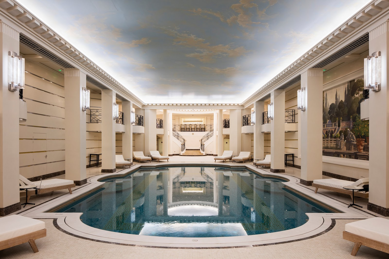 Pool at Ritz Paris