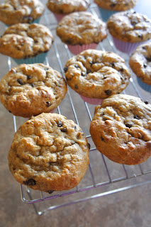 Banana Peanut Butter Chocolate Chip Muffins: Savory Sweet and Satisfying