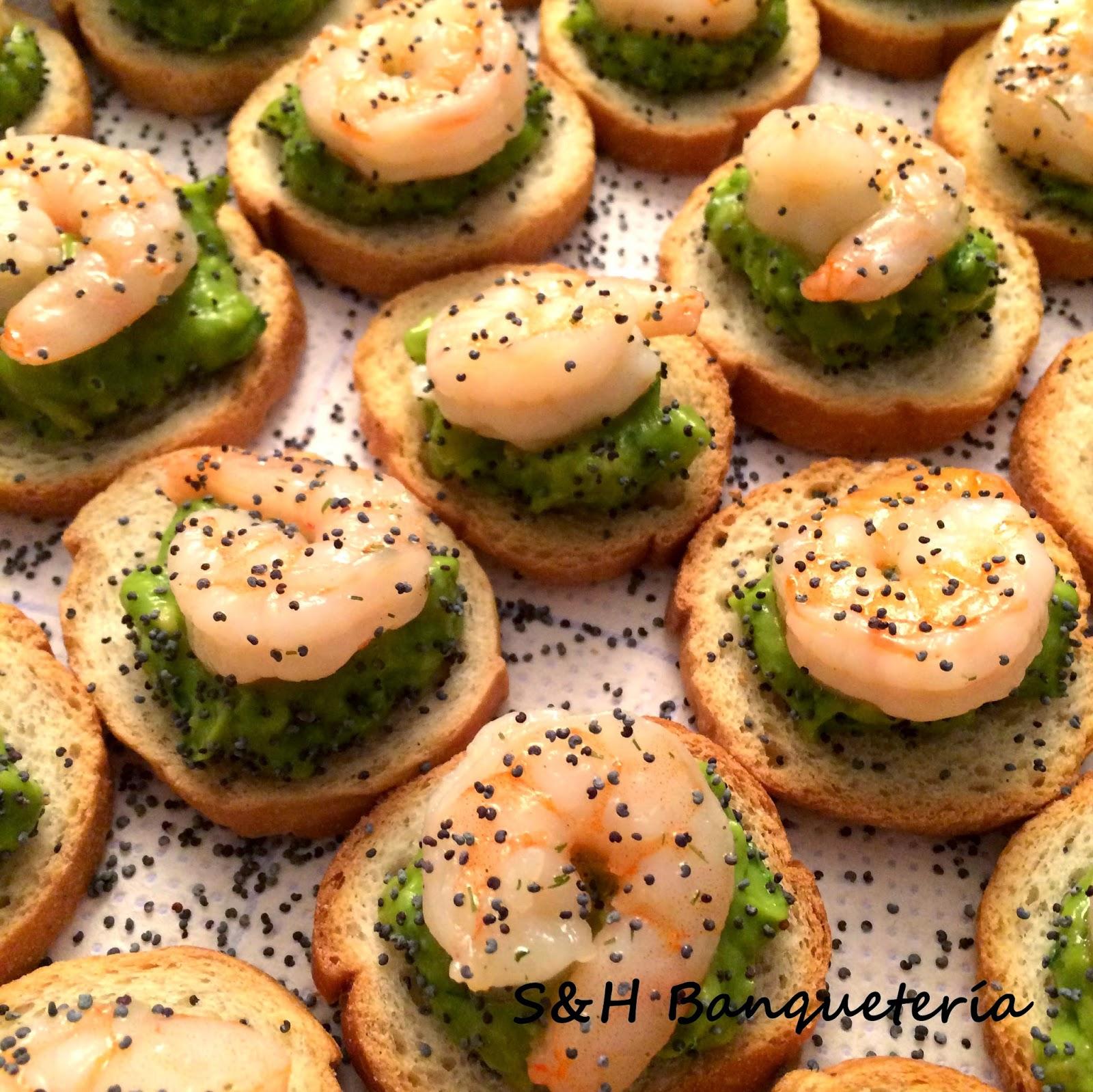 Marie Gourmet - Cóctel a domicilio - Crostini