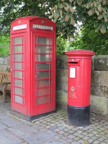 Post Box and Telephone Box