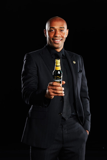 Thierry Henry to visit Nigeria on 17th December ....  Football icon will be in Lagos as part of the Guinness Made of Black programme