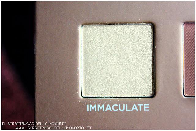 immaculate dreamy eyeshadow palette nabla cosmetics ombretti