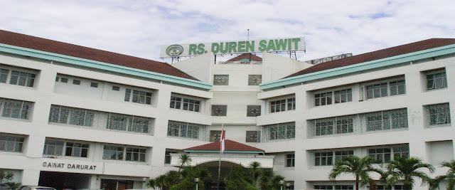 Tarif dan Fasilitas Rawat Inap di RSKD Duren Sawit