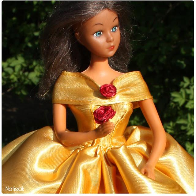 tutoriel robe jaune de La Belle et la Bête