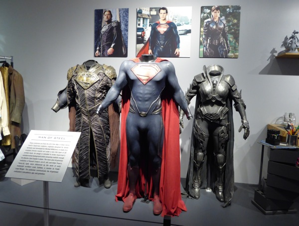 Original Man of Steel movie costumes