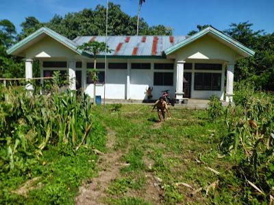 Puskesmas pembantu (pustu) desa Nggalak Kecamatan Reok Barat Kabupaten Manggarai Provinsi NTT