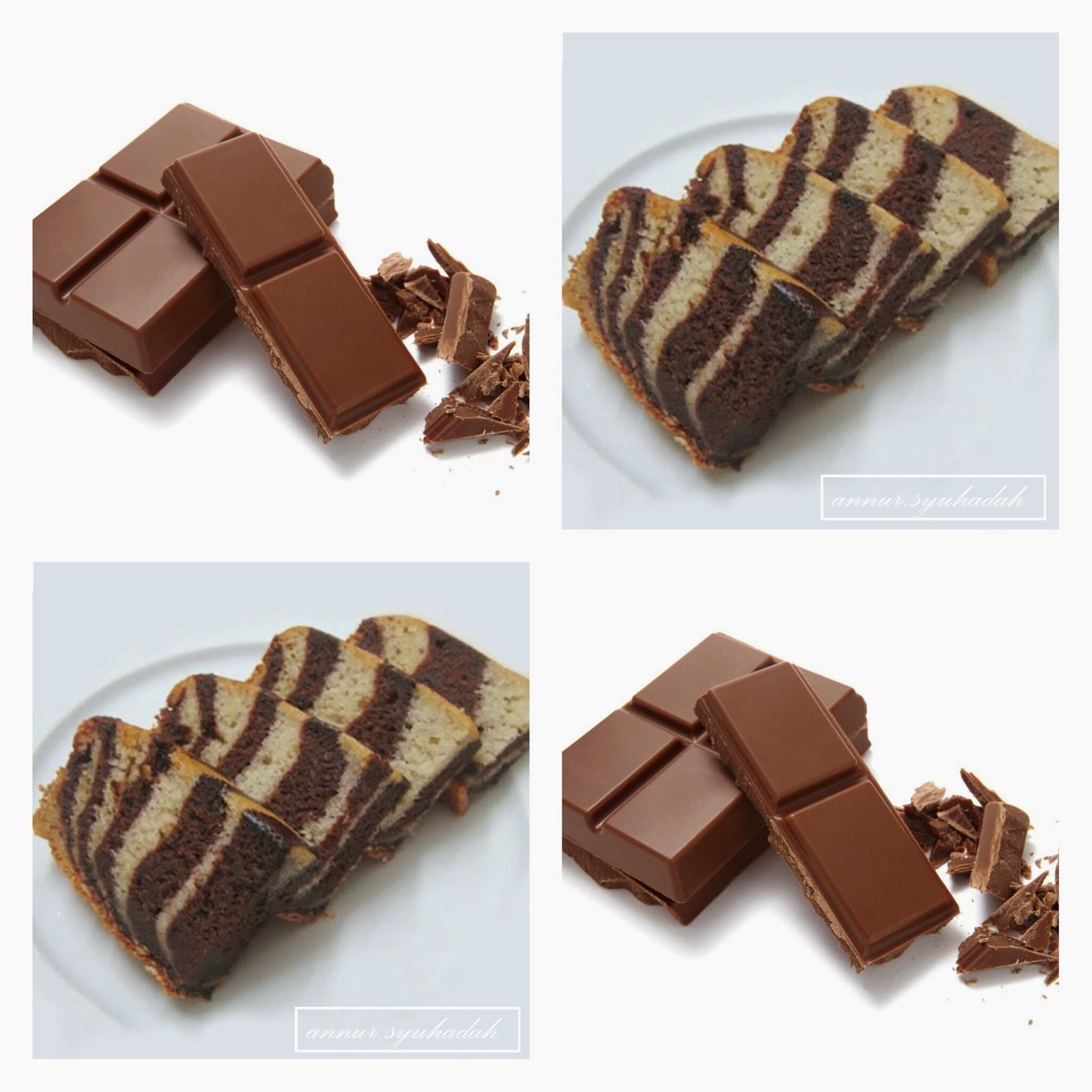 kek isang coklat