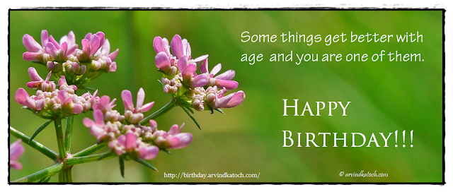 Beautiful Card, Birthday Card, Happy Birthday, Age,