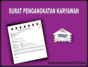 Gambar Contoh Surat Pengangkatan Karyawan