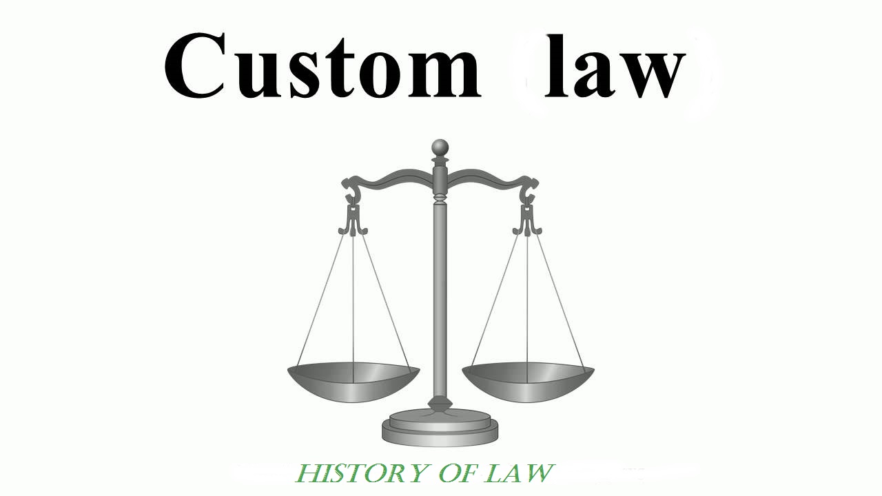Legal custom: concept, historical aspect, meaning