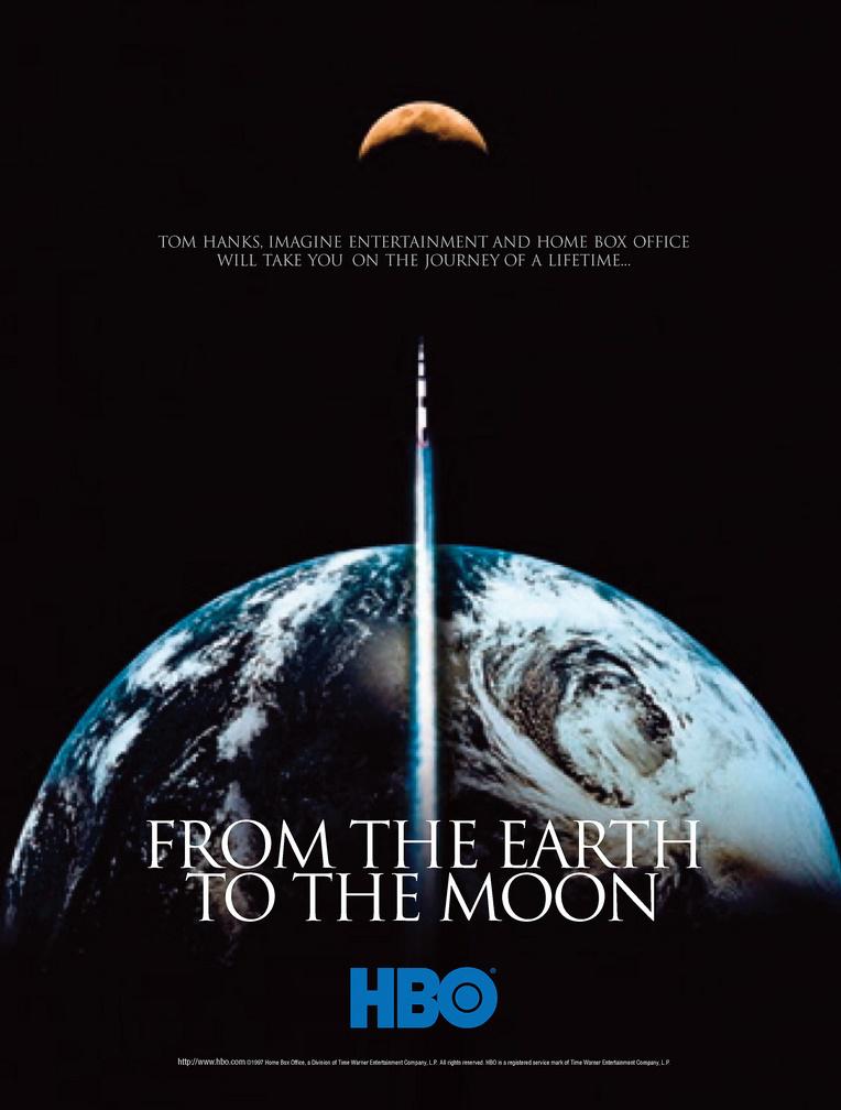 z ziemi na księżyc miniserial plakat tom hanks hbo