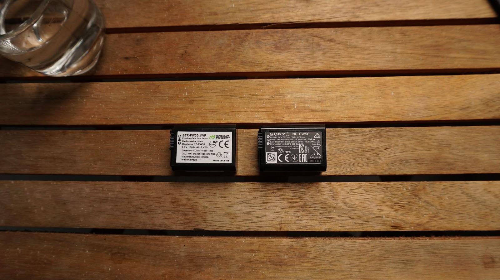 PIN sạc Wasabi FW50