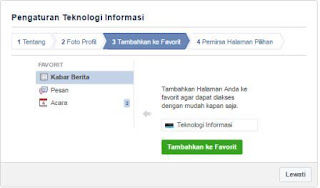 Membuat Fanspage Facebook
