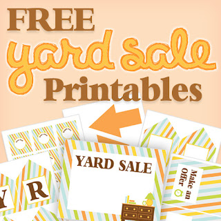 Printable Yard Sale Signs Free 11x17 inches
