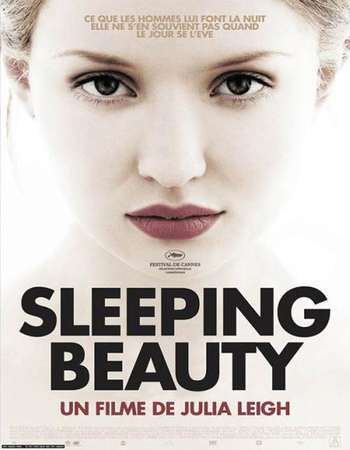 Poster Of Sleeping Beauty 2011 English 350MB BRRip 480p ESubs Free Download Watch Online Worldfree4u