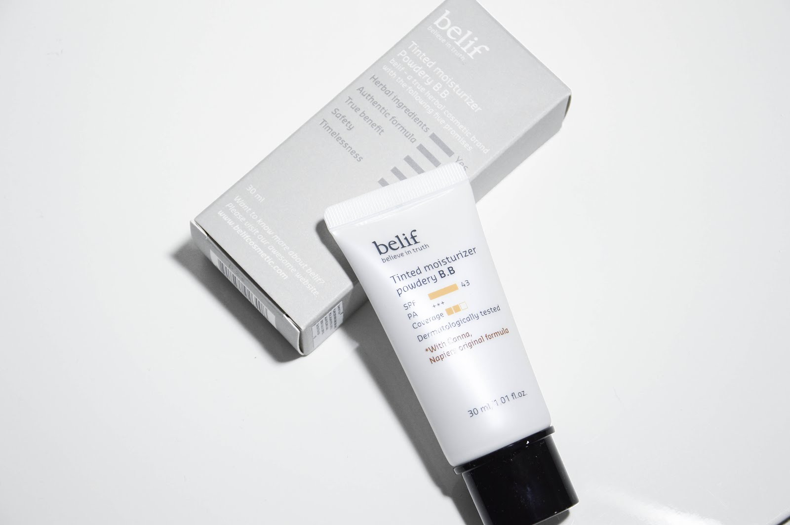 Belif Tinted Moisturizer Powdery Bb review
