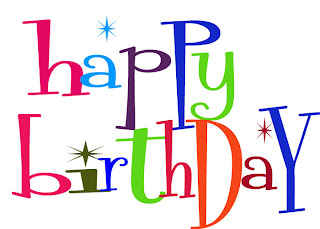 Cute Clipart: ♥ Cute Happy Birthday Text Clipart Curly Style