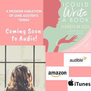 Coming soon: I Could Write a Book by Karen M Cox in audio