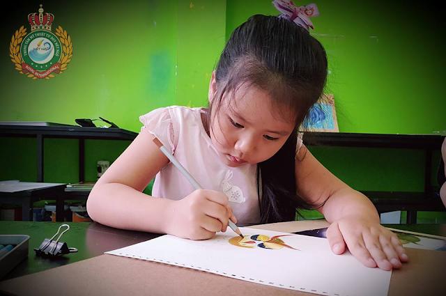 Lớp học vẽ trong hè cho thiếu nhi tại Bình Thạnh TP HCM